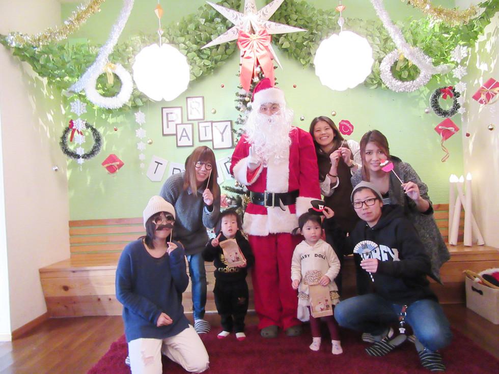 加古川でママ友ママ会貸切クリスマスパーティー
