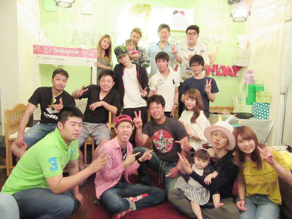 加古川でハッピーバースデイ!!貸切誕生日会はめちゃくちゃ楽しいです!!赤ちゃんも楽しめる。