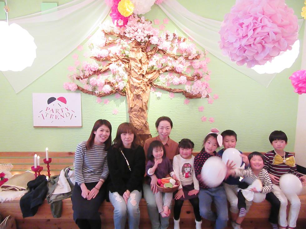 加古川からママ会で貸切していただきました!!小さなお子様がいるママには貸切がオススメ!