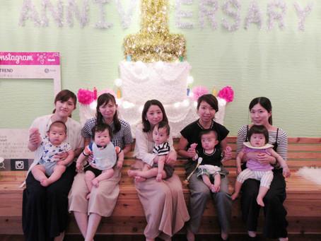 ママ友のママ会はパーティートレンド!加古川、明石、姫路からも!!赤ちゃんやベビーには貸切が一番ですっ