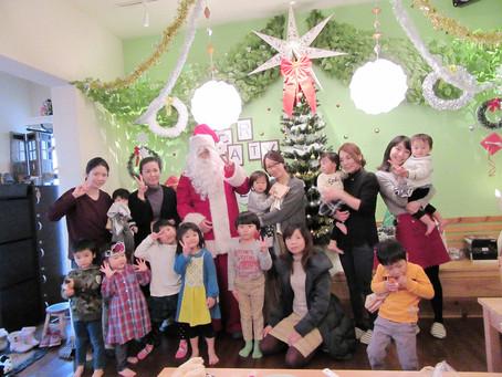 貸切クリスマスパーティー!!加古川でママ友のママ会。