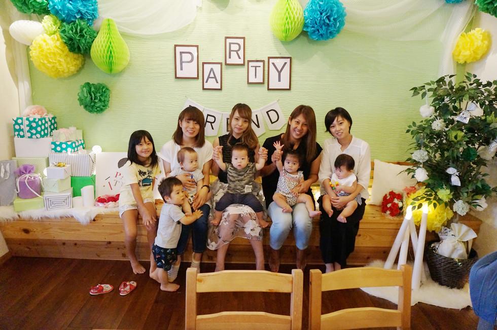ママ友加古川で貸切赤ちゃんパーティー