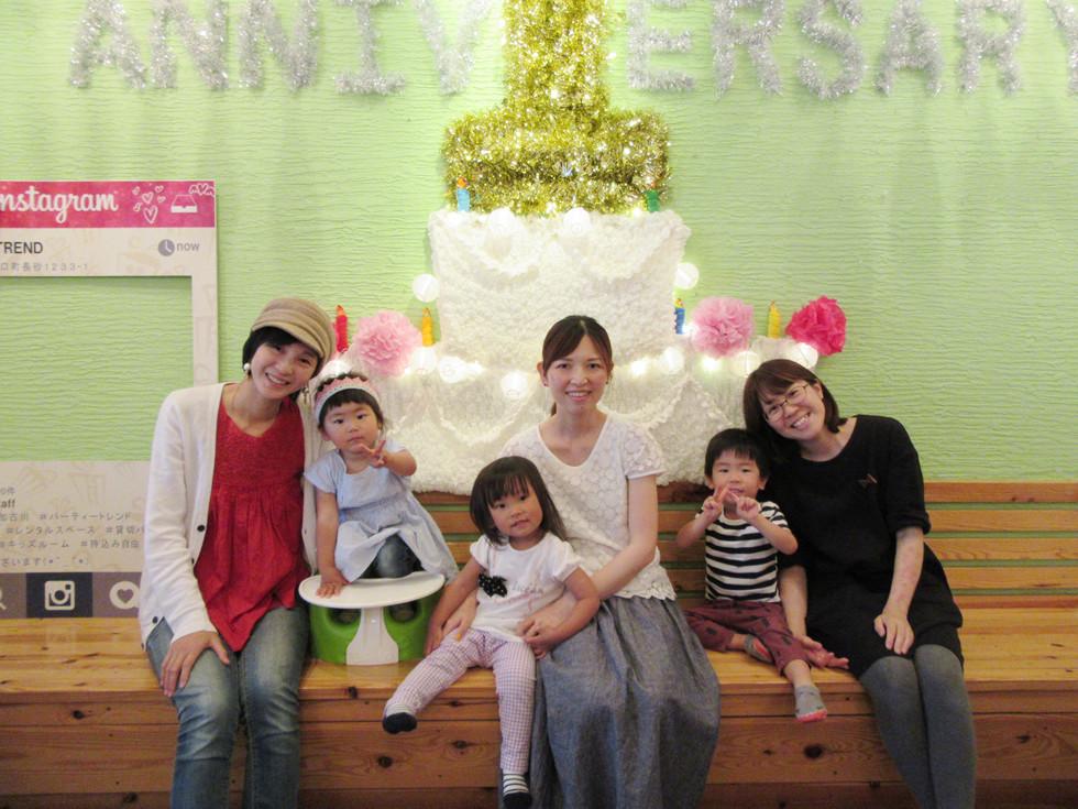 小さな赤ちゃんやお子様がいてもママが楽しめる貸切ママ会が加古川や明石や姫路からも!!