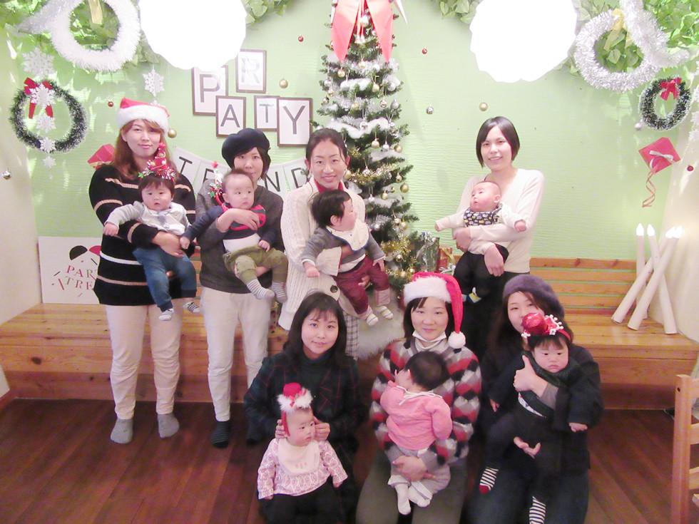 ママ友のママ会、加古川で貸切クリスマスパーティー