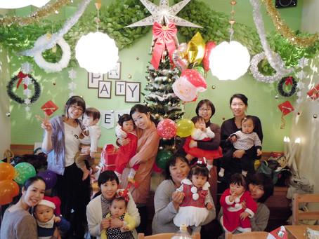 加古川で貸切!ママ友のママ会、クリスマスパーティー。