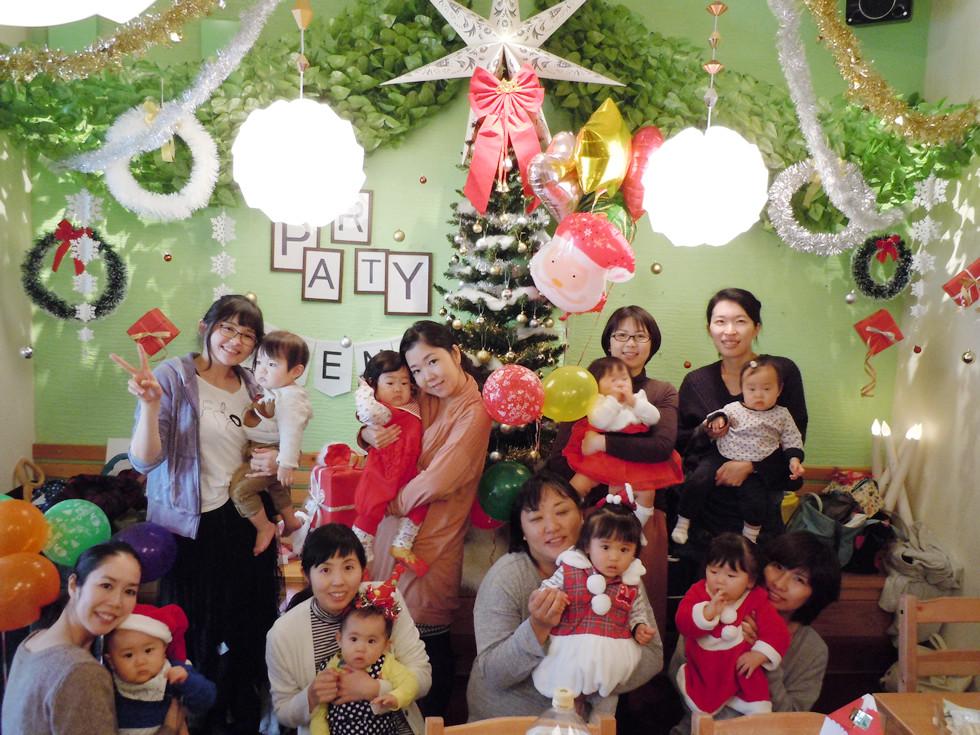 加古川で貸切でママ友のママ会クリスマスパーティー