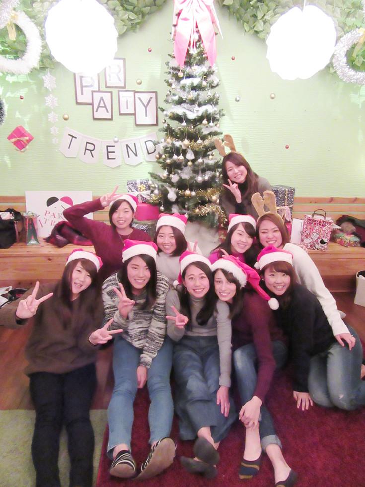 加古川で貸切女子会クリスマスパーティー、友達とパーティーしよう