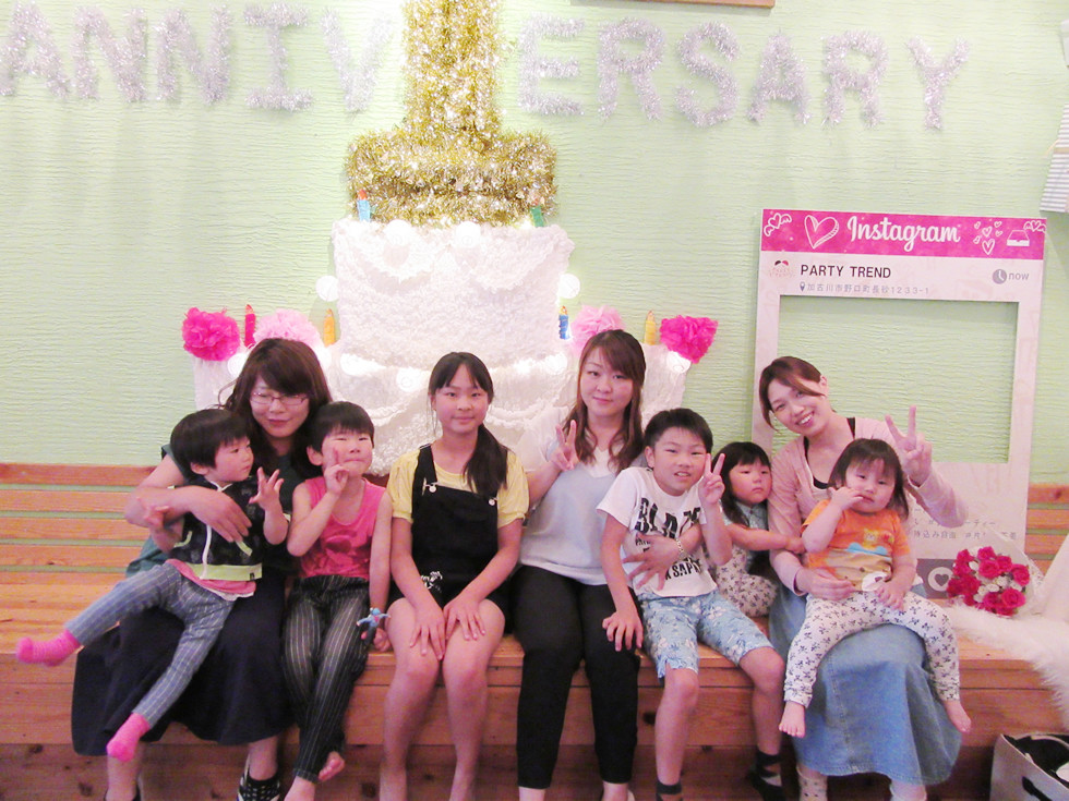 小さなお子様や赤ちゃんも喜ぶ!加古川の貸切レンタルパーティールームでママ友のママ会!