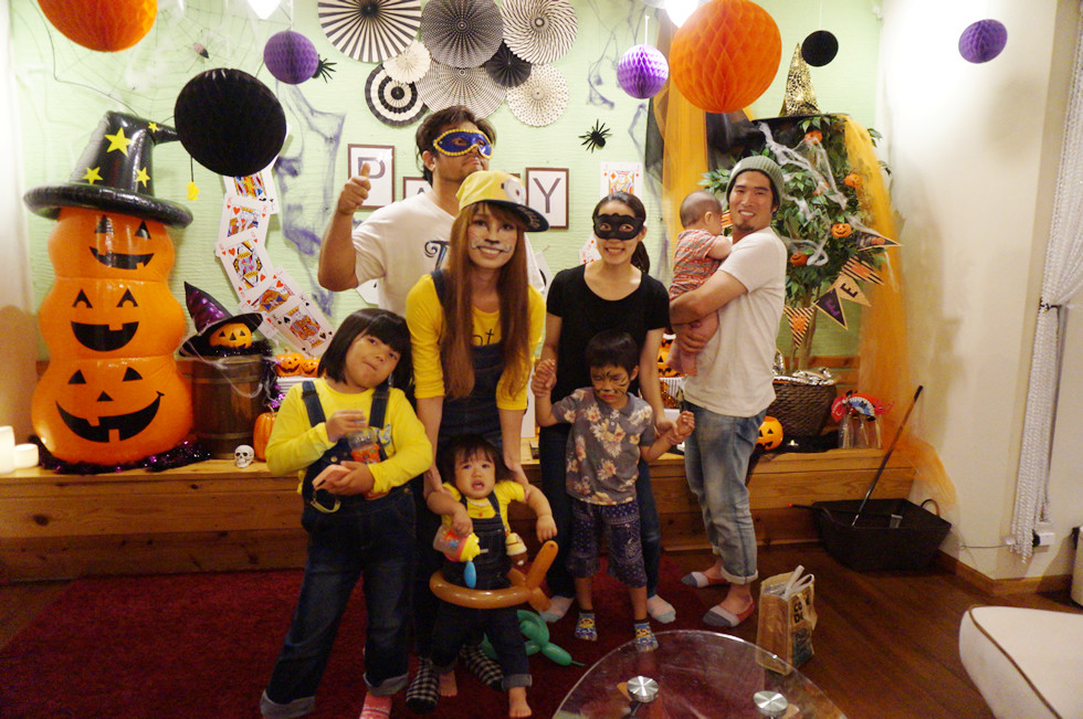 加古川で貸切ハロウィンパーティー!