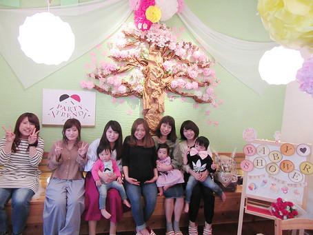加古川でママ友貸切ベビーシャワー!!妊婦さんを祝っちゃおう!!