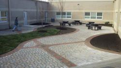 New Lebanon School Courtyard