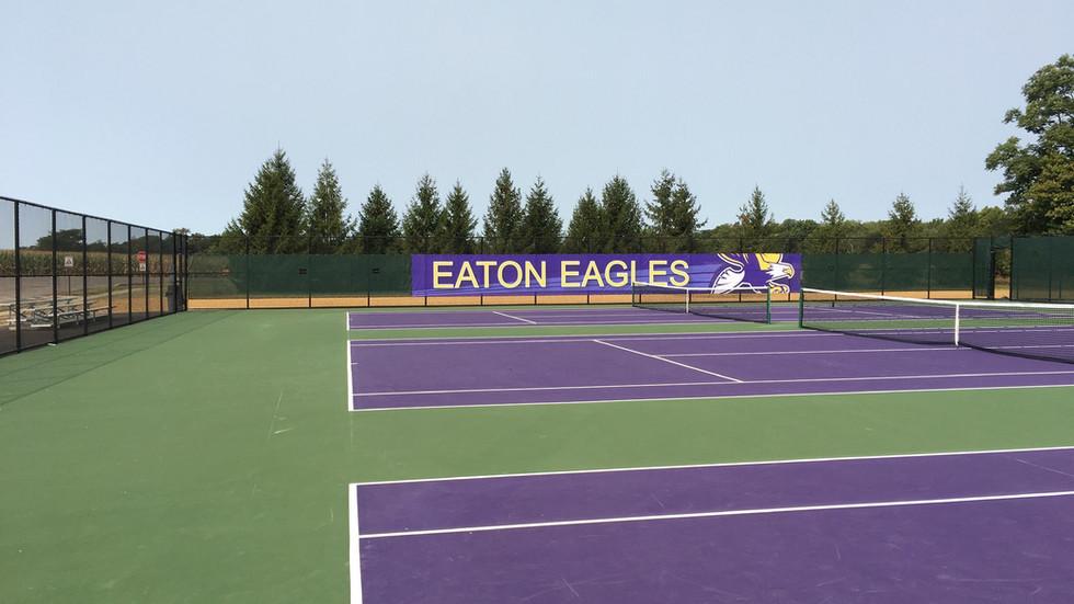 Eaton Community Schools Tennis Courts