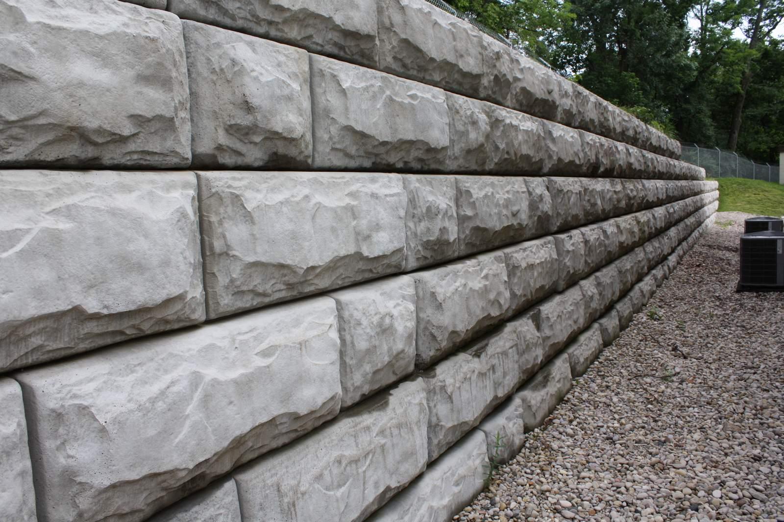Redi-Rock wall in Cincinnati, OH