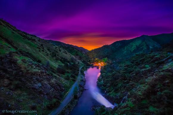 """""""Devil's Delight;"""" 2017, Monticello Dam, California."""
