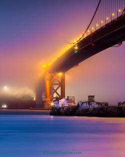 Golden Gate Bridge and Ft. Baker