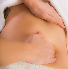Massage amincissant / anti-cellulite