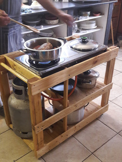 Mini Mobile Cooking Station