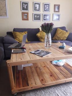 Coffee Table on castors
