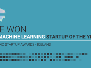Activity Stream Wins Best Icelandic AI/Machine Learning Startup 2019!