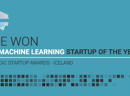 Activity Stream Wins Best Icelandic AI/Machine Learning Startup 2019!