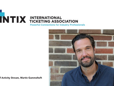 Activity Stream's Martin Gammeltoft Joins The INTIX Board