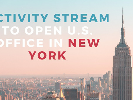 Activity Stream Expands Office To The U.S.