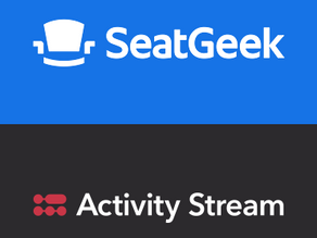 Seatgeek Integrates With Activity Stream To Bring Additional Data Insights