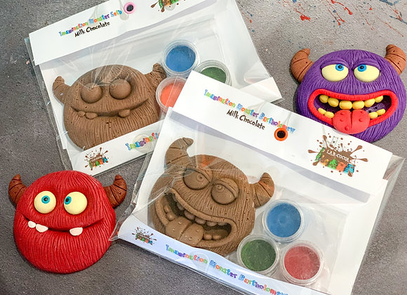 Chocolate Monsters Paint 'n' Create Sets