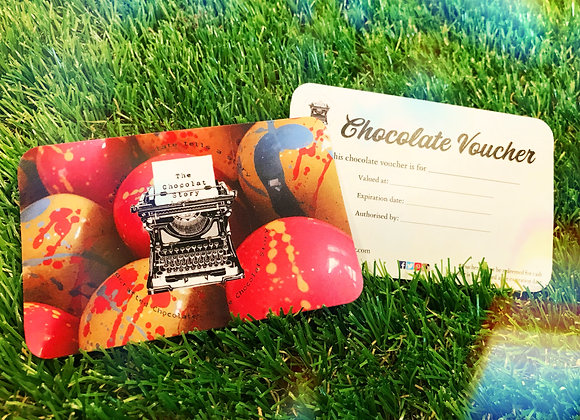Chocolate Voucher
