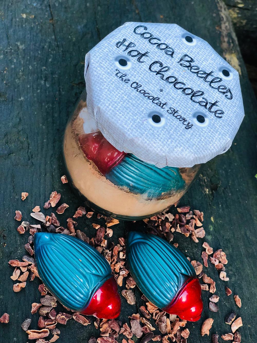 Cocoa beetles packaging