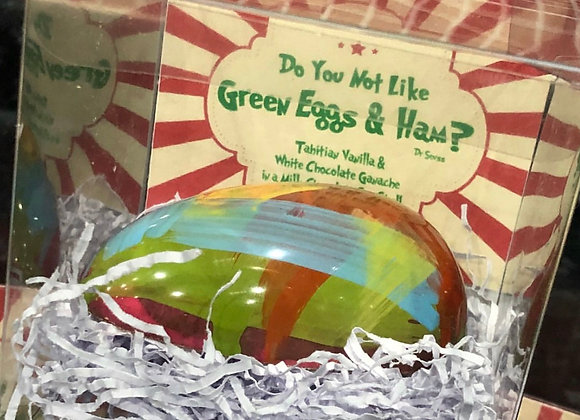 Do you not like Green eggs and Ham - Tahitian Vanilla Egg