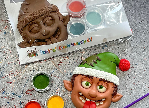 Chocolate Naughty Elf Paint 'n' Create Set