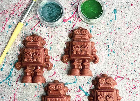 Chocolate Robots Paint 'n' Create Set