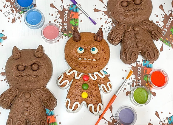 Chocolate Krampus G Paint 'n' Create Set