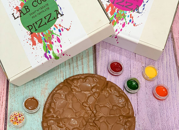 Chocolate Pizza Paint 'n' Create Set