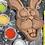Chocolate Mad Hatter Hare Paint 'n' Create Set