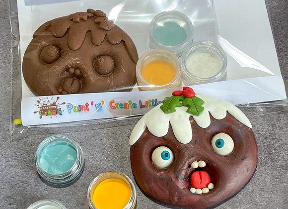 Chocolate Little Pud Paint 'n' Create Set