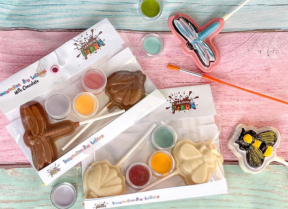 Chocolate Bug Lollipops Paint 'n' Create Set
