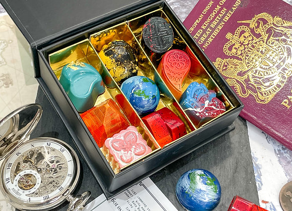 Around the World in 80 Days Chocolate Collection