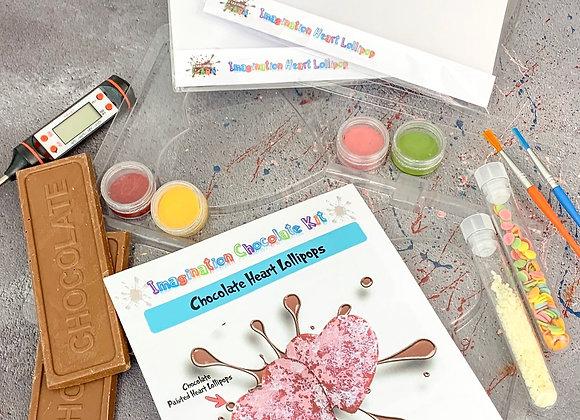 Chocolate Heart Lollipop Imagination Kit