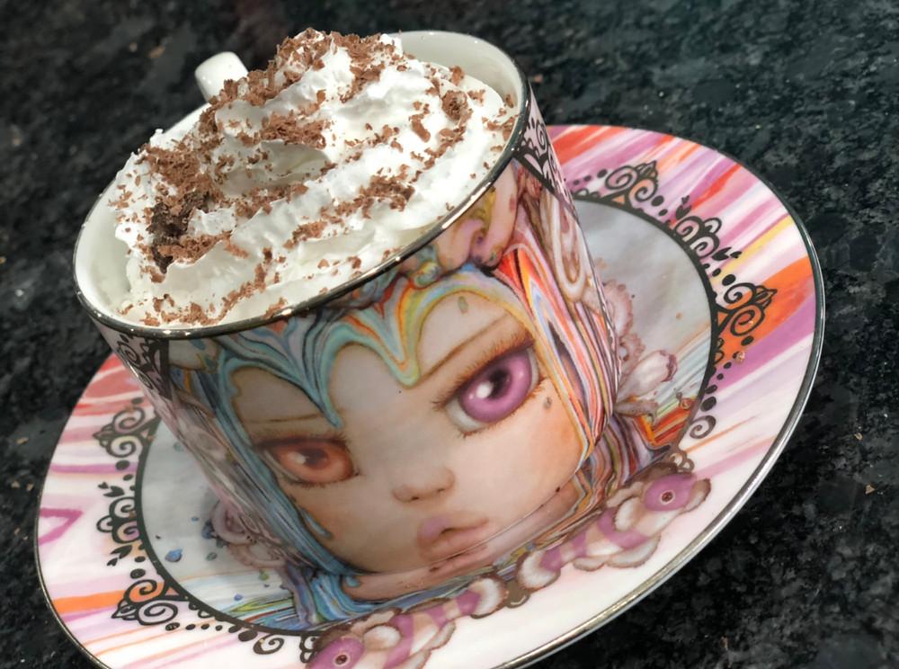 Cocoa beetles hot chocolate