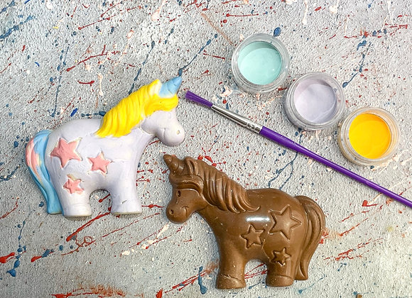 Chocolate Unicorn  Paint 'n' Create Set