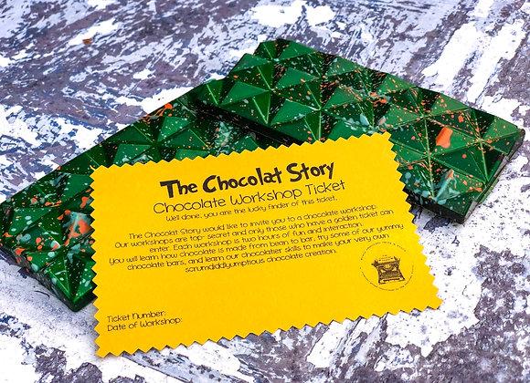 Chocolate Workshop Ticket