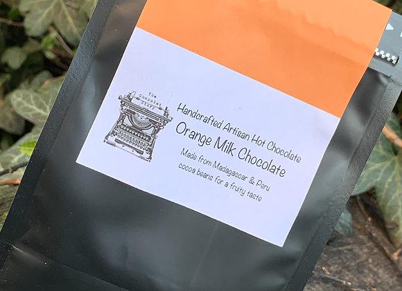 Orange Dark Milk Hot Chocolate