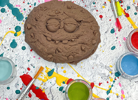 Chocolate 'Crumbs' (the squashed cookie in the packet) Paint 'n' Create Set