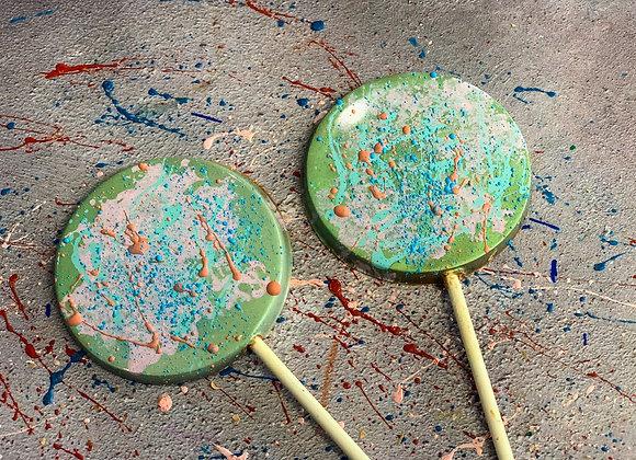 Chocolate Circle Lollipop Imagination Kit
