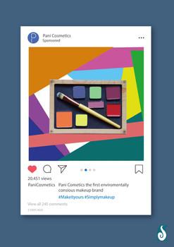 Pani Cosmetics - Instagram ad 2