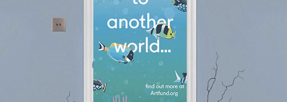 Door Stickers - Aquarium