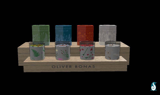 Rendered Candles - Front View