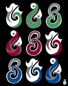 Hei Matau - 3 Colours